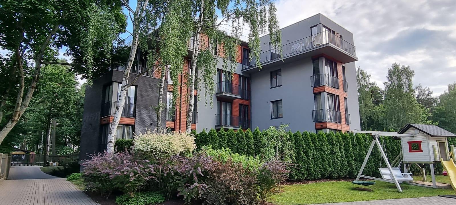 На долгий срок сдается уютная 4-комнатная квартира, Jurmala, Lielupe
