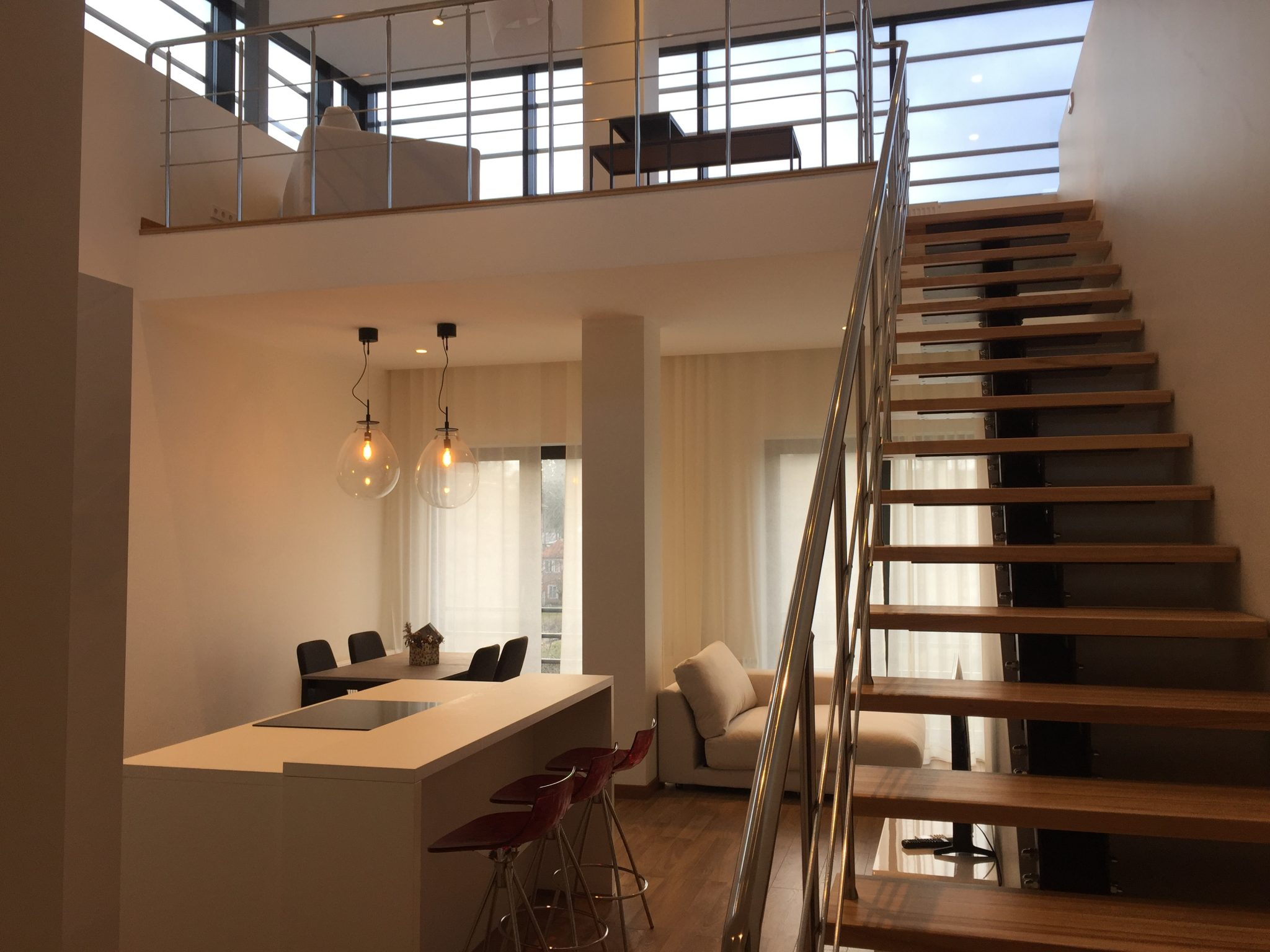 Продается 2-этажная квартира в Булдури