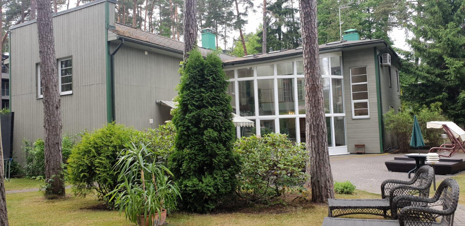 На лето сдается дом в Юрмале, Дзинтари, рядом с парком