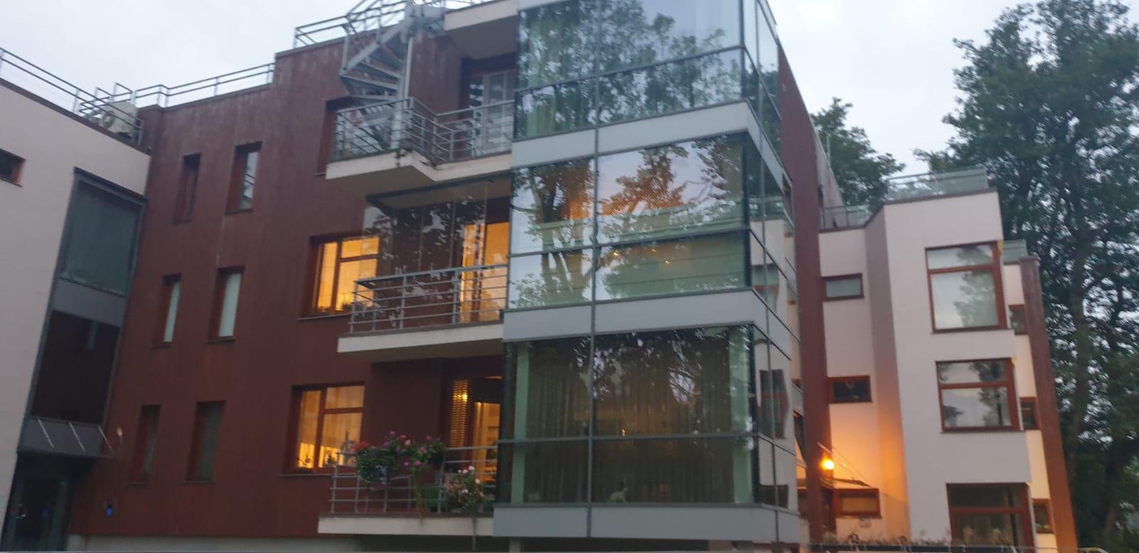 Сдается квартира с террасой в Dubulti