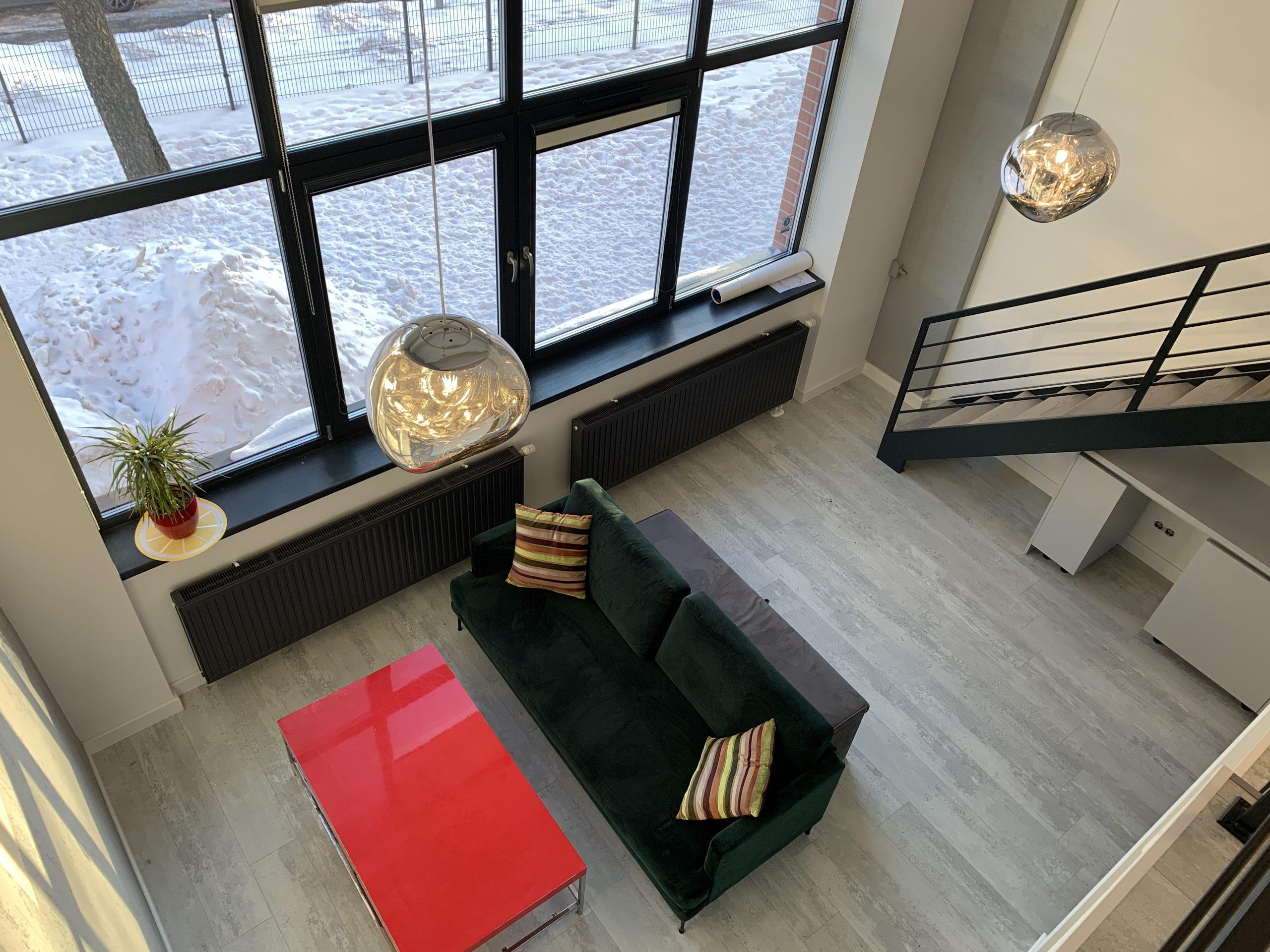 Продается уникальная 2-этажная студия в новом лофт-проекте