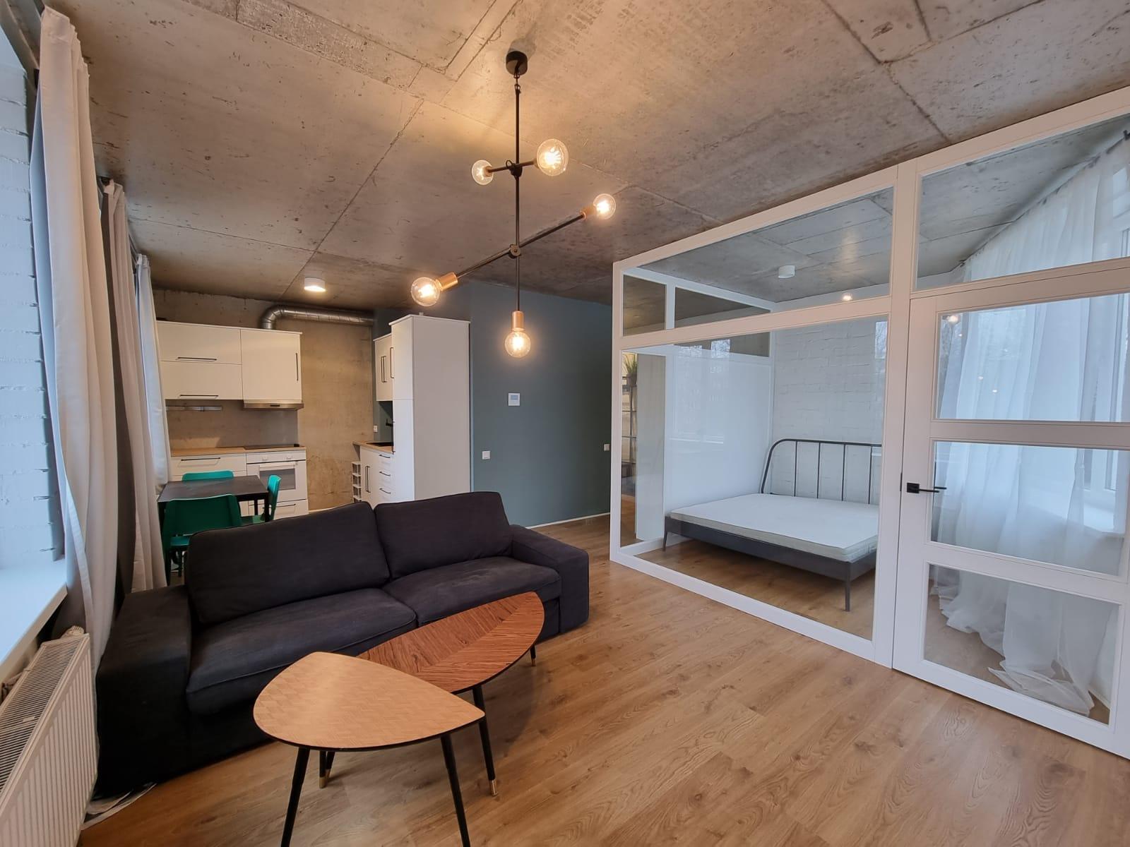 Продается студия с отдельной спальней в новом проекте