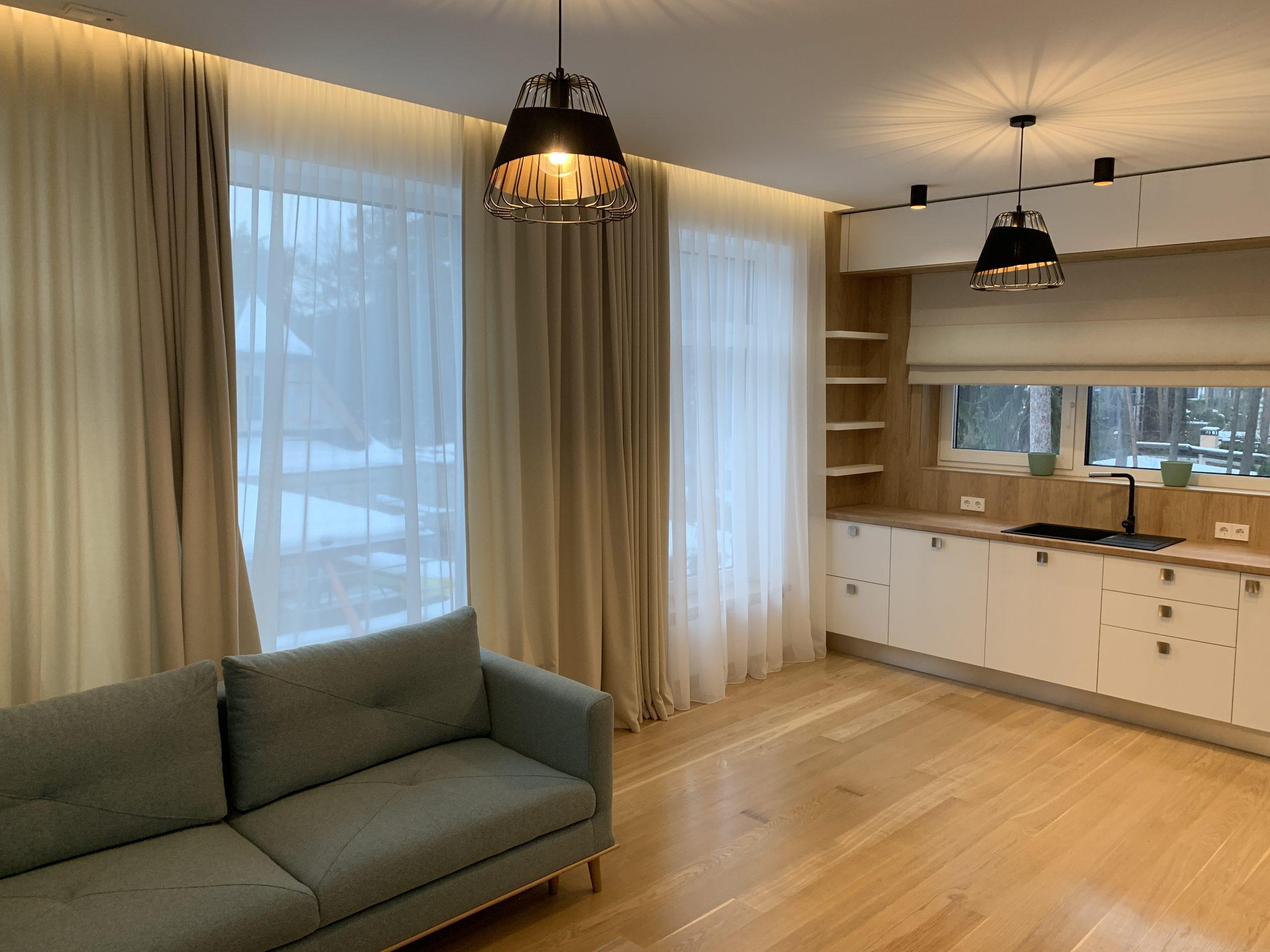 Продается квартире в новом проекте, Лиелупе