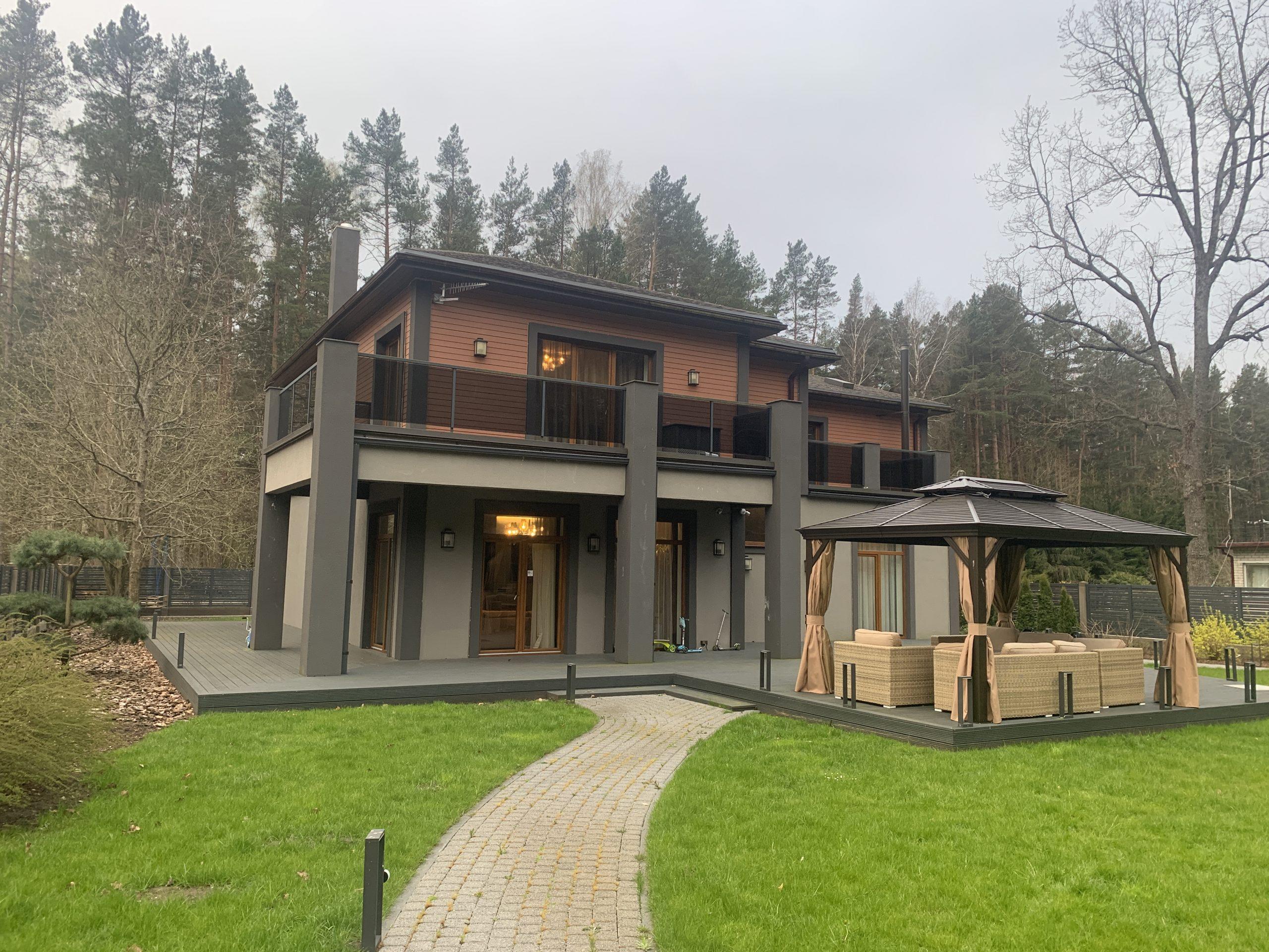 Сдается современный дом в Юрмале